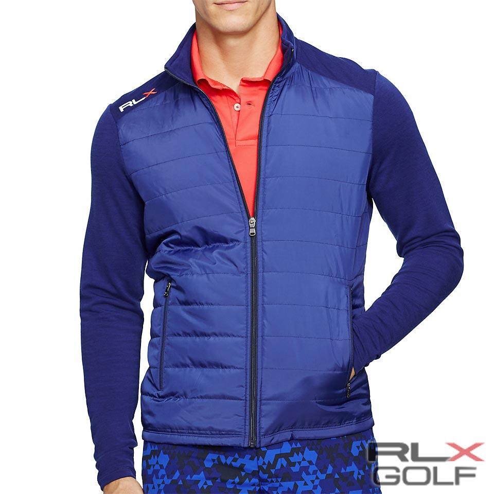 RLX ゴルフ/ラルフローレン : Quilted Merino Wool Jacket [軽量/メリノウール/中綿入りキルトバネル/ジャケット]