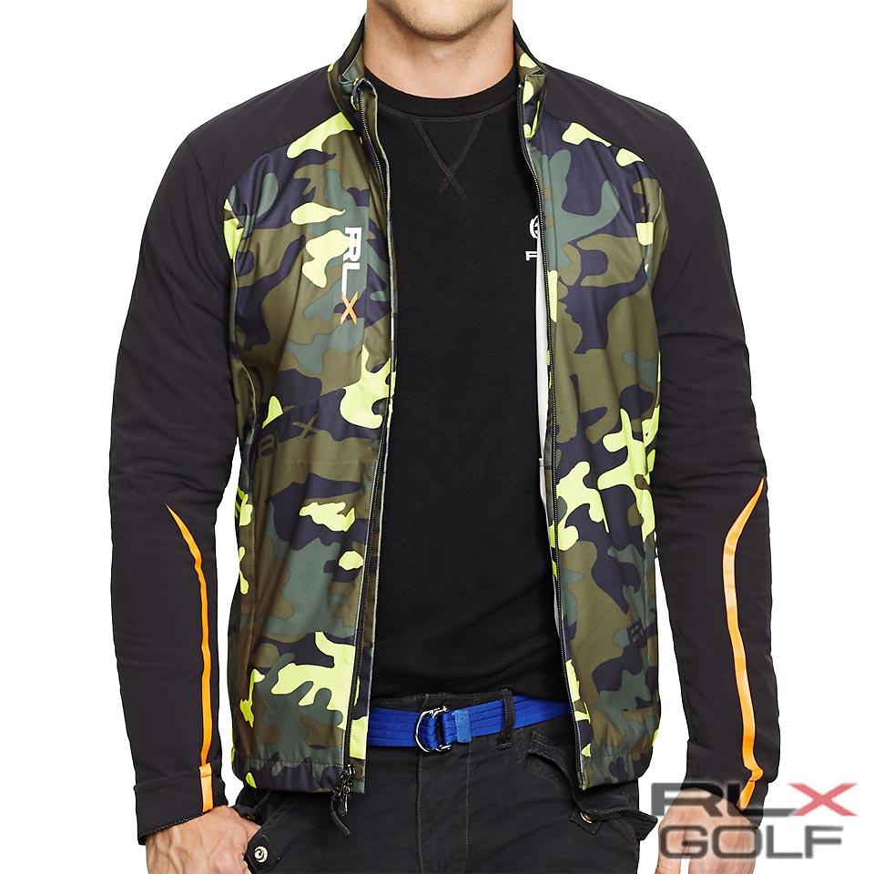 RLX ゴルフ/ラルフローレン : Camouflage Windbreaker [耐水/迷彩&ソリッド/ウインドブレーカー]