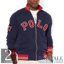 �礭���������Υ��ե?��� : Fleece Baseball Jacket [���åȥ�ե꡼�������������]