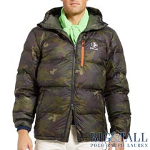 �礭���������Υ��ե?��� : Camouflage Quilted Down Jacket [RLX���º����������󥸥㥱�å�]