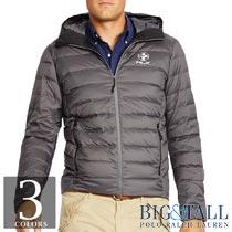大きいサイズのラルフローレン : Quilted Down Jacket [キングサイズ/軽量/RLX/ダウンジャケット]