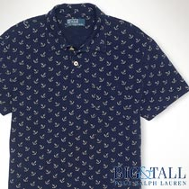 �礭���������Υ��ե?��� : Classic-Fit Anchor Polo Shirt [���󥫡��������������㡼������Ⱦµ�ݥ�]