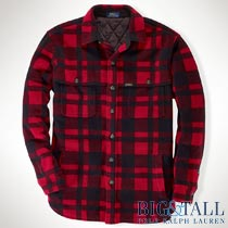 �礭���������Υ��ե?��� : Plaid Fleece Shirt Jacket [�ե꡼������ĥ��㥱�å�]
