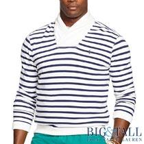 �礭���������Υ��ե?��� : Striped Shawl Sweatshirt [�������������åȥ�ƥ�����硼��ߥ������å�]