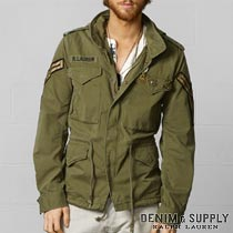 �ǥ˥�&���ץ饤 : Officer's Field Jacket [�ߥ꥿�꡼���㥱�å�]