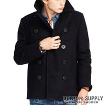 �ǥ˥�&���ץ饤�����ե?��� : Wilton Wool Pea Coat [������֥��ɡ��ԡ�������]