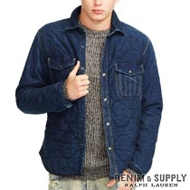 �ǥ˥�&���ץ饤�����ե?��� : Croslin Quilted Denim Jacket [����ƥ��󥰥ǥ˥ࡿ�������꡿�ǥ˥ॸ�㥱�å�]