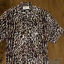 �ǥ˥�&���ץ饤 : Ocelot Cotton Beach Shirt [Ⱦµ�쥪�ѡ��ɥ����]