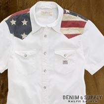 �ǥ˥�&���ץ饤 : Cowboy Flag Shirt [�����������Ⱦµ�����]