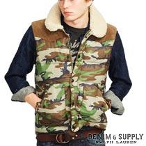 �ǥ˥�&���ץ饤�����ե?��� : Camo Ripstop Down Vest [�ʥ���ե�����������ߡ��º�����������٥���]