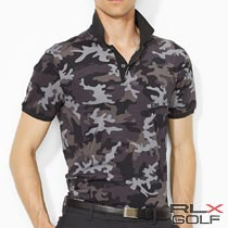RLX ����ա����ե?��� : Camo Custom-Fit Polo Shirt [�º�����®�����ȥ�å��ݥ?���]