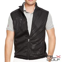 RLX ゴルフ/ラルフローレン : Stretch Jersey Mockneck Vest [ストレッチジャージー/ネイティブ柄/ベスト]