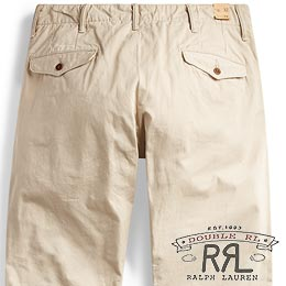RRL/ダブルアールエル : Cotton Officer's Chino