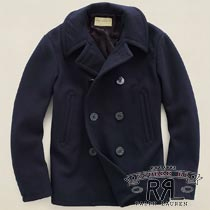 RRRL�����֥륢���륨�� : Wool Pea Coat [2014ǯ���ߡ�������ԡ�������]
