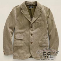 RRL�����֥륢���륨�� : Cotton Sheridan Sport Coat [���ݡ��ĥ��㥱�å�/�֥쥶��]