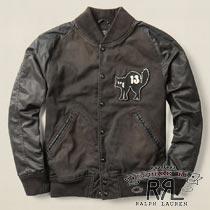 RRL�����֥륢���륨�� : Pierce Varsity Jacket [���������/���������ƥ����㥱�å�]