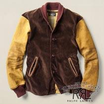 RRL�����֥륢���륨�� : Cotton Varsity Jacket [�����ǥ�?/���������/���������ƥ����㥱�å�]