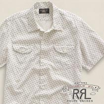 RRL�����֥륢���륨�� : Gardiner Anchor Workshirt [���ɥå�Ⱦµ��������]