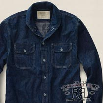 RRL�����֥륢���륨�� : Shawl-Collar Denim Workshirt [���硼��ߥǥ˥ॷ���]