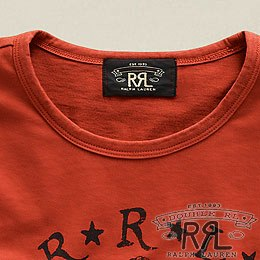 RRL�����֥륢���륨�� : Short-Sleeved Mermaid T-Shirt