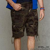 RLX�����ե?��� : Camo Jersey Cargo Short [���㡼�������������硼��]