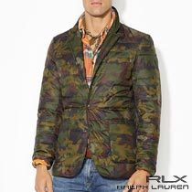 RLX�����ե?��� : Camo Packable Down Sport Coat [�ݡ�����Ǽ���º�����������ơ��顼�ɥ��㥱�å�]