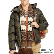 RLX�����ե?��� : Camouflage Down Jacket [���̡��º����������㥱�å�]