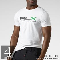 RLX�����ե?��� : RLX Logo Cotton Jersey T-Shirt [�?T�����]
