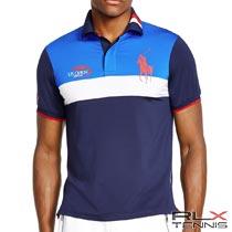 RLXテニス : US Open Ball Boy Polo Shirt [全米USオープンテニス2015/ボールボーイ/ストレッチ/半袖ポロシャツ]